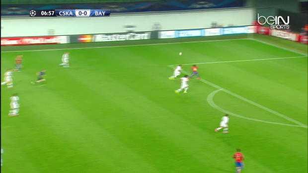 LdC : CSKA Moscou 0-1 Bayern Munich