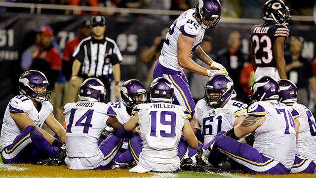Top 5 Vikings celebrations of 2017