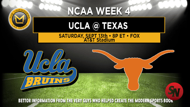 UCLA Bruins @ Texas Longhorns