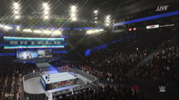 WWE 2K19 entrance mashup: The McMahon Family as The Shield