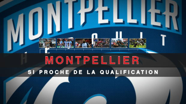 Rugby : Champions Cup - Montpellier, une qualification manquée