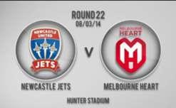 Jets v Heart 1st Half Highlights