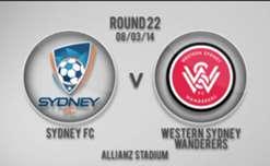 Sydney v Wanderers 1st Half Highlights
