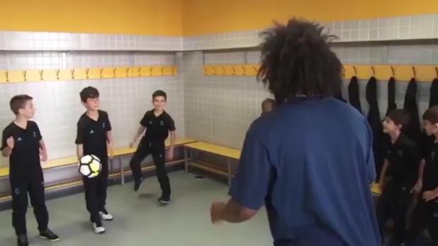 Wie der Sohn, so der Vater: Marcelos Challenge