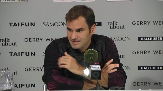 Halle: Federer: Das waren meine schönsten Siege