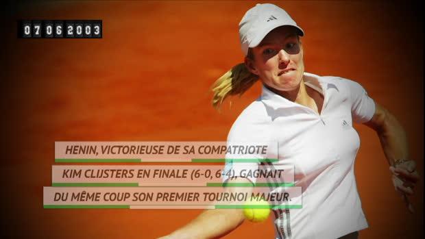 Basket : Il y a 16 ans - Justine Henin remportait la première finale 100% belge de l'histoire