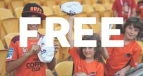 The school holidays are here, kids go free this Sunday at Suncorp Stadium Vs Adelaide United. Pre-purchase your tickets through ticketek now and #FeelTheRoar!