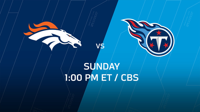 Week 14 Game Preview: Broncos vs. Titans