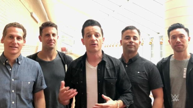 WWE and O.A.R. team up to support Connor's Cure