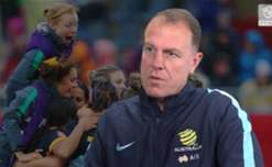 Westfield Matildas boss Alen Stajcic says hosting or winning a FIFA Women's World Cup would change the game for ever in Australia.