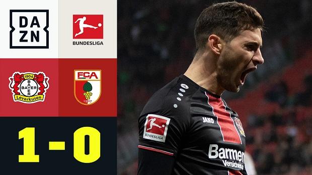 Bundesliga: Bayer 04 Leverkusen - FC Augsburg | DAZN Highlights