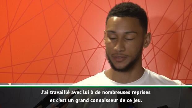 Sixers - Simmons - 'LeBron est comme un grand frère'