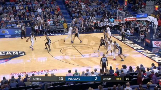 GAME RECAP: Pelicans 107, Spurs 90