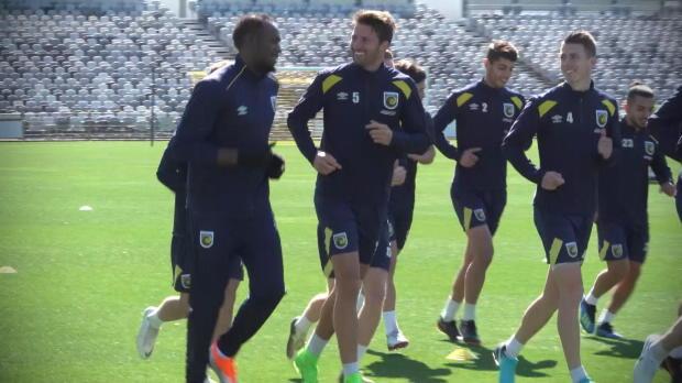 A-League: Bolt startet seine Fußball-Karriere