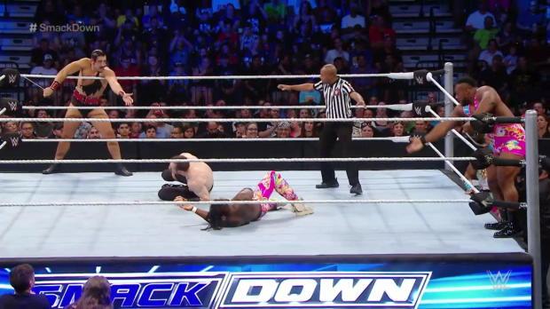 The New Day vs. The Vaudevillians: SmackDown, June 23, 2016