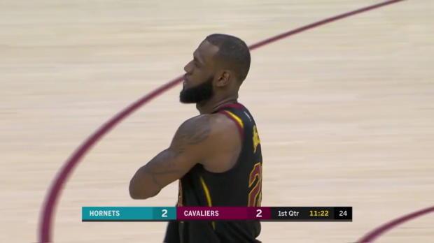 WSC: LeBron James Posts 27 points, 13 assists & 16 rebounds vs. Charlotte Hornets