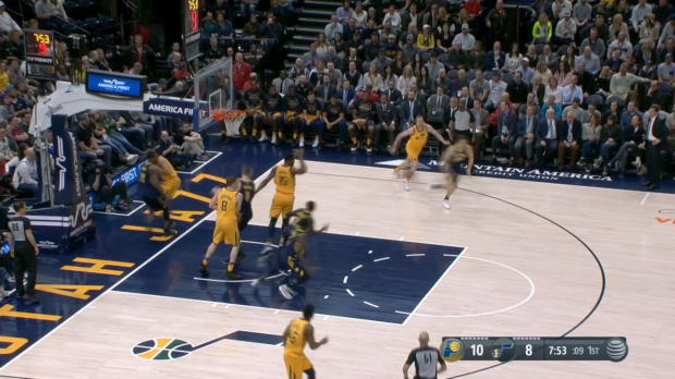 GAME RECAP: Pacers 109. Jazz 94