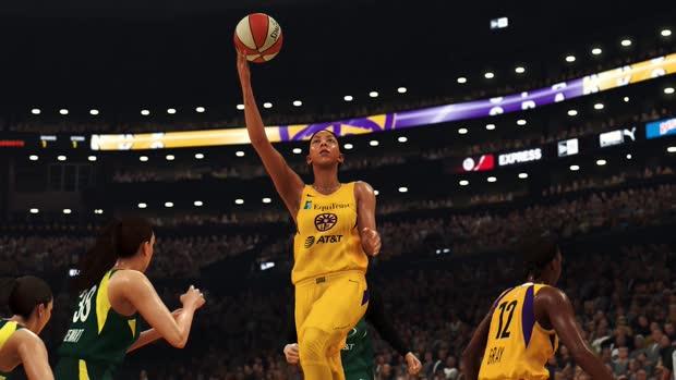 NBA2K20 WNBA Gameplay Trailer