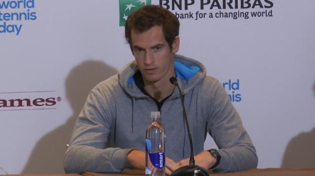 Murray, feliz por no sentir dolor