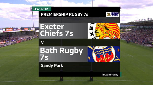 Aviva Premiership - Match Highlights - Exeter Chiefs 7s v Bath Rugby 7s