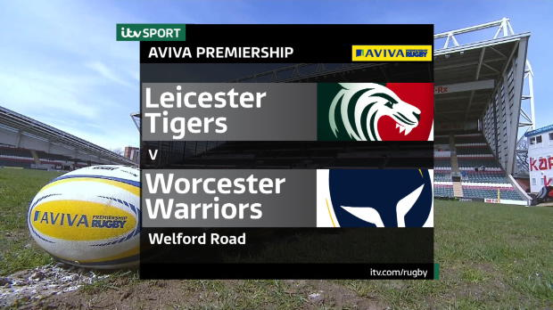 Aviva Premiership - Match Highlights - Leicester Tigers v Worcester Warriors