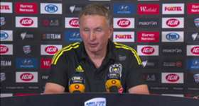 Phoenix boss Ernie Merrick said his side dropped their heads after missing a penalty in their loss to Adelaide.