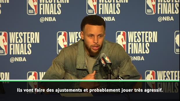 Play-offs - Curry - 'Poursuivre sur notre lancée'