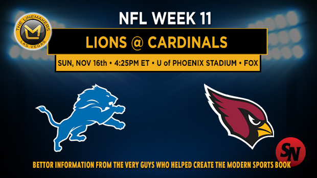 Detroit Lions @ Arizona Cardinals