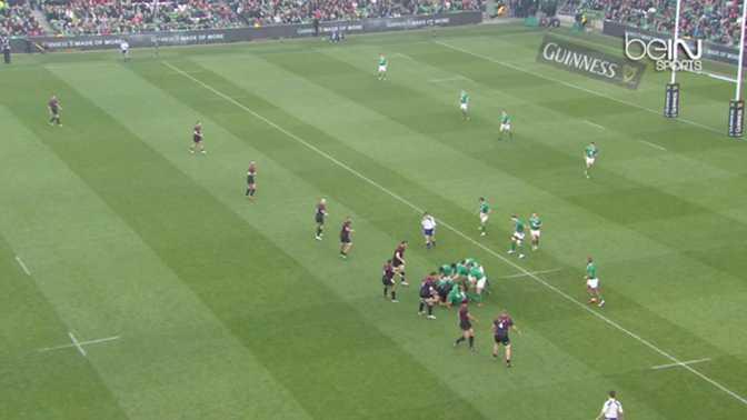 T-M : Irlande 49-7 Georgie