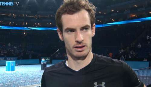 Murray Interview: ATP World Tour Finals
