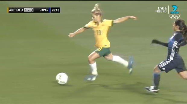 Westfield Matildas v Japan highlights