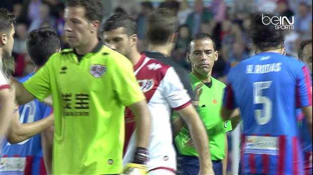 Liga : Levante 0-2 Rayo Vallecano