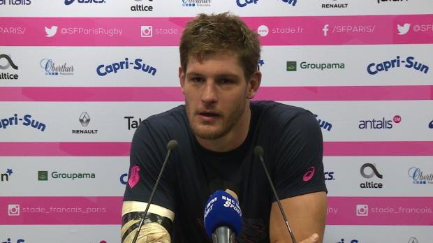 """Rugby : Top 14 - 12e j. : Flanquart : """"Fier de mon équipe"""""""