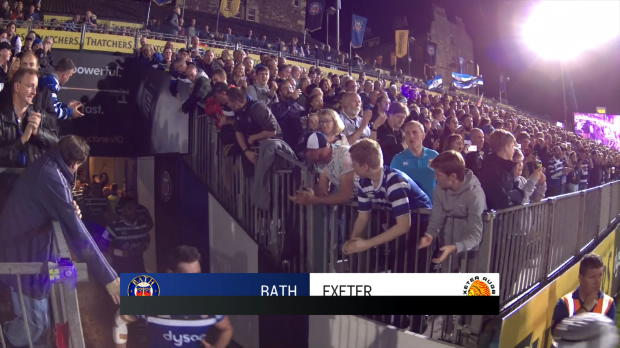 Aviva Premiership : Aviva Premiership - Match Highlights - Bath Rugby v Exeter Chiefs - Round 6
