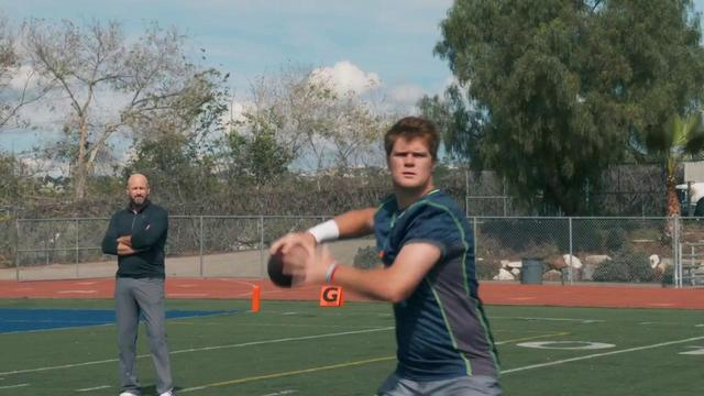 Soul & Science: USC quarterback Sam Darnold showcases an incredibly explosive release