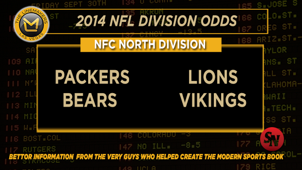NFC North betting preview