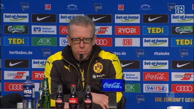 """BVB nur 1:1! Stöger: """"Müss' ma leben damit"""""""