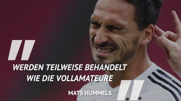 Sprüche der Woche: DFB-Stars verarbeiten 0:3