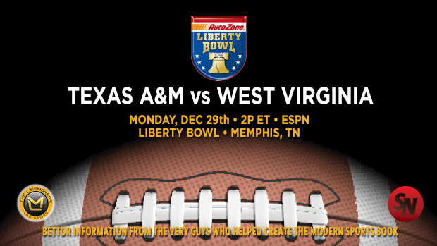 Texas A&M Aggies @ West Virginia Mountaineers