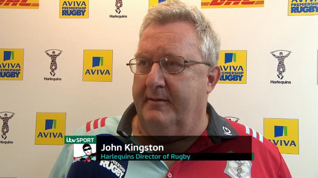 Aviva Premiership - John Kingston?s Interview After Harlequins beat Saracens