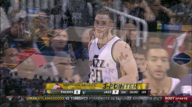 WSC: Head-to-head: Gordon Hayward (27 pts), George Hill (30 pts) in Utah Jazz vs. the Pacers, 1/21/2017