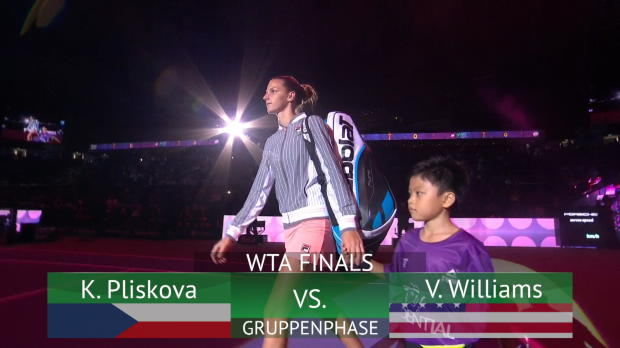 Finals: Pliskova fertigt Williams locker ab