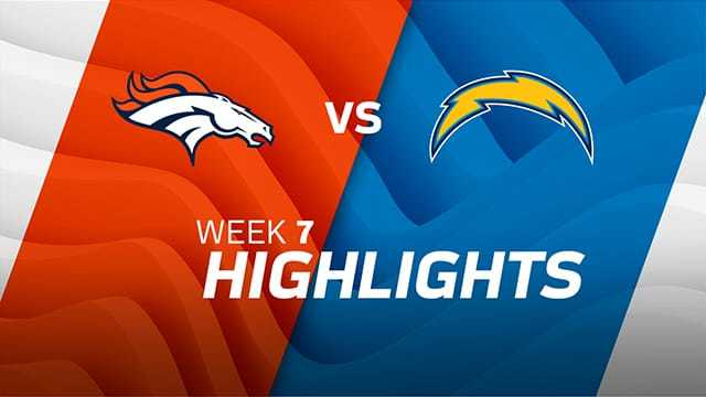 Broncos vs. Chargers highlights | Week 7