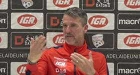 Head Coach Marco Kurz discusses the squad, improvements, philosophy and the the A-League.