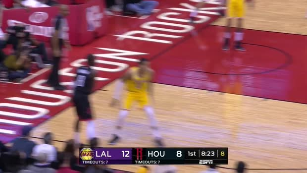 WSC: James Harden with 48 Points vs. Los Angeles Lakers