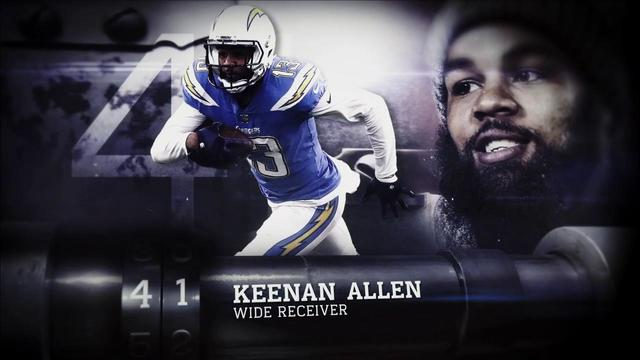 'Top 100 Players of 2018': Los Angeles Chargers wide receiver Keenan Allen | No. 41