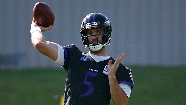 LaDainian Tomlinson: Baltimore Ravens QB Joe Flacco has 'nothing to worry about' in Ravens QB competition