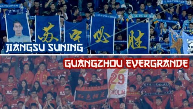 كرة قدم: الدوري الصيني الممتاز: جيانغسو سانينغ 2-0 غوانغزو إيفرغراندي