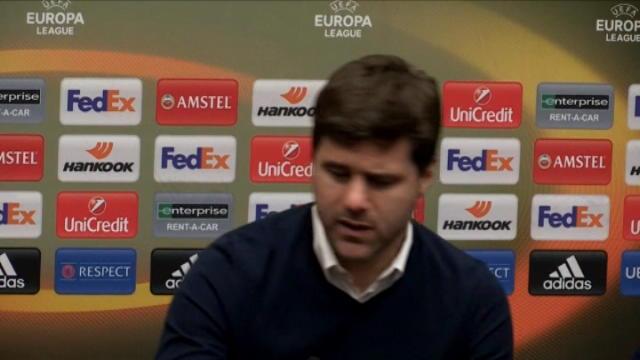 كرة قدم: يوروبا ليغ: بوكيتينو يدعم ديلي اللي رغم الطرد