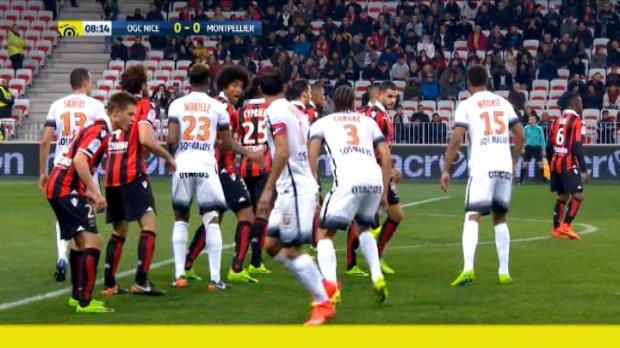 كرة قدم: الدوري الفرنسي: نيس 2-1 مونبيليه